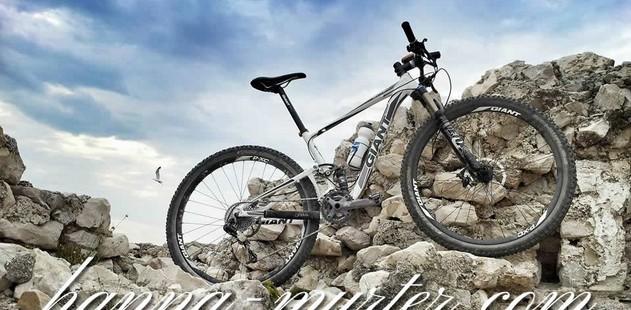 Cycling around Murter